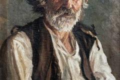 Γέρος (O αλήτης σοφός), περ. 1925, λάδι σε καμβά, ιδιωτική συλλογή